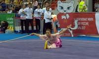 Зыонг Тхюи Ви завоевала золото на чемпионате мира по ушу 2017 года