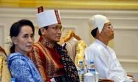 美国对缅甸政治转型进程表示欢迎