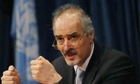 叙利亚对与联合国特使的会谈予以积极评价