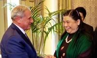 越南国会副主席丛氏放对意大利进行工作访问