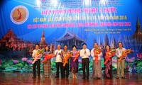 越老柬缅泰五国艺术节开幕