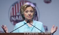 美国总统大选:希拉里在全国范围内领先其对手