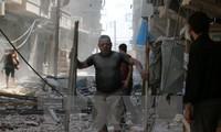 """俄罗斯继续开展打击叙利亚境内""""伊斯兰国""""的空袭行动"""