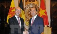 促进有效落实越南与比利时瓦隆-布鲁塞尔联邦2016至2018年阶段合作计划