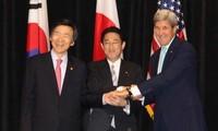 美日韩讨论加大对朝鲜的制裁