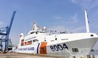 越南海上警察司令部接收2000型多用途船