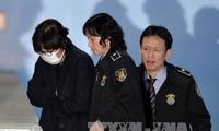 韩国法院下令逮捕朴槿惠好友崔顺实