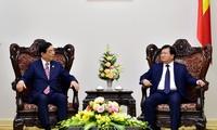 郑庭勇会见红十字会和红新月会国际联合会主席近卫忠辉