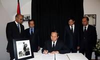 越南党国家和政府领导人吊唁古巴领袖菲德尔·卡斯特罗