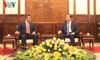越南国家主席陈大光会见马达加斯加贸促代表团