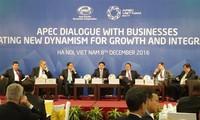 亚太经合组织与企业对话会:为推动亚太经合组织增长和互联互通创造动力