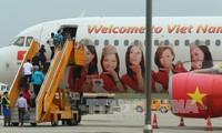 越捷航空公司开通河内至柬埔寨暹粒新航线