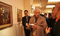 越南当代绘画和摄影展在印度开幕