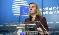 欧盟重申支持与伊朗达成的核协议
