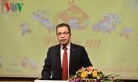 越南驻华大使馆举行2017年丁酉春节见面会