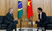 巴西希望加强与越南的合作