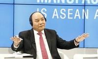 阮春福圆满结束出席世界经济论坛第47届年会行程