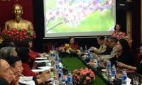 越共中央民运部部长张氏梅向越南老年人协会致以新春祝福