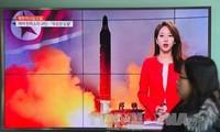 国际舆论对朝鲜试射弹道导弹做出反应