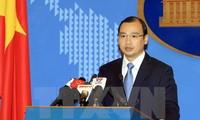 越南反对中国台湾在长沙群岛巴平岛进行实弹射击演习