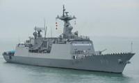 韩日美举行联合反潜演习 应对朝鲜潜艇威胁