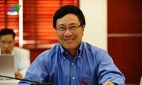 越南与蒙古提高经济合作效果  加强在多边论坛上的合作