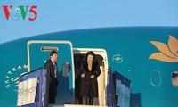 阮氏金银开始对欧洲三国进行正式访问
