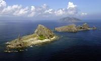 中国多艘船只出现在与日本存在争议的群岛附近海域