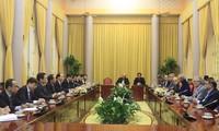 越南和伊朗加强双方潜力领域合作
