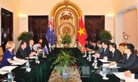 将越南与新西兰关系提升至新高度