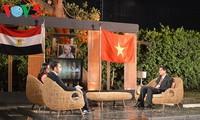 越南在埃及宣传胡志明主席形象