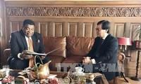 越南常驻联合国日内瓦办事处代表团参与议联亚太地区专题会议筹备工作