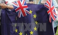 特雷莎·梅与马克龙讨论英脱欧问题