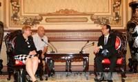 胡志明市与德国推动高技术与能源领域合作