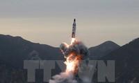 朝鲜宣布成功试射新型地对地中远程弹道导弹