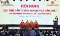 阮春福表示:清化省可以成为引进投资的模范省份