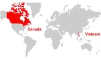 越南希望加强与加拿大的多领域合作关系
