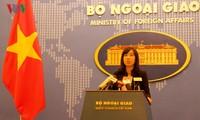 越南外交部发言人黎氏秋姮就多国袭击事件和阮春福访美答记者问