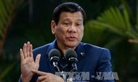菲律宾总统杜特尔特呼吁反对派参与打击IS行动