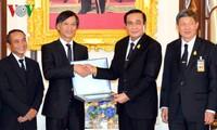 泰国总理巴育:泰越关系正处于前所未有的良好阶段