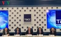 俄罗斯举行十月革命100周年纪念活动新闻发布会