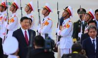 中共中央总书记、国家主席习近平开始对越南进行国事访问
