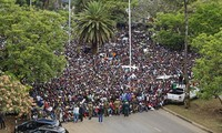 津巴布韦执政党向穆加贝总统提出辞职期限