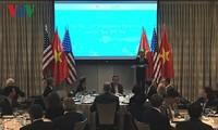 越南驻美使馆举办招待会 庆祝越美关系和越南成功举办2017年APEC会议