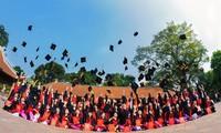 越南大学生的拍毕业照热潮
