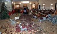 IS宣称制造巴基斯坦教堂袭击事件