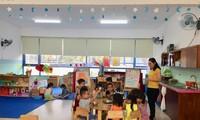 招收岘港工人子女的一所达到国际标准的学校