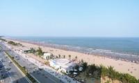 清化省岑山海滩——引人入胜的旅游景点