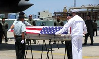 Remains of US soldiers repatriated