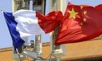 France, China hold strategic dialogue